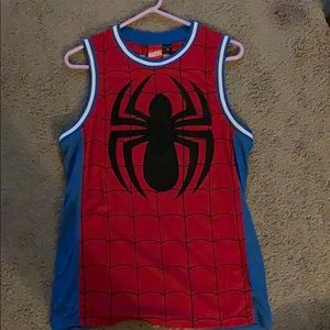 Marvel Spider-Man basketball jersey